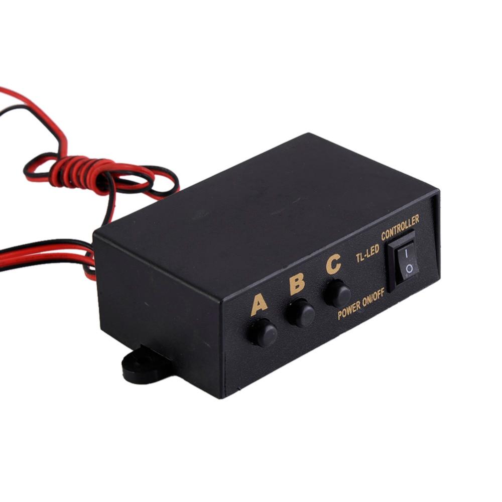 10000-12000MCD Hvid Gul 44 LED Energisparelampe Strobe Grill Dashlys - Billygter - Foto 5