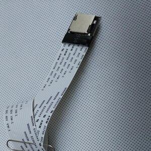 Image 4 - 25 \ 48 \ 60 centimetri SD SDHC SDXC Card Maschio A Femmina Adattatore di Estensione Della Carta di DEVIAZIONE STANDARD Flessibile Cavo di Prolunga per la TV Del Telefono DVR della Macchina Fotografica di GPS Per Auto