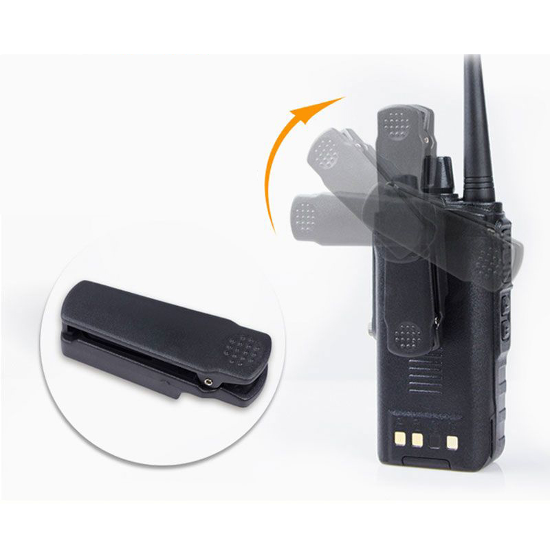 Baofeng Walkie Talkie Belt Clip For BF-9700 UV-9R PLUS BF-A58 UV-XR GT-3WP UV-5S UV5R-WP T-57 For Pofeng Back Clip Accessories