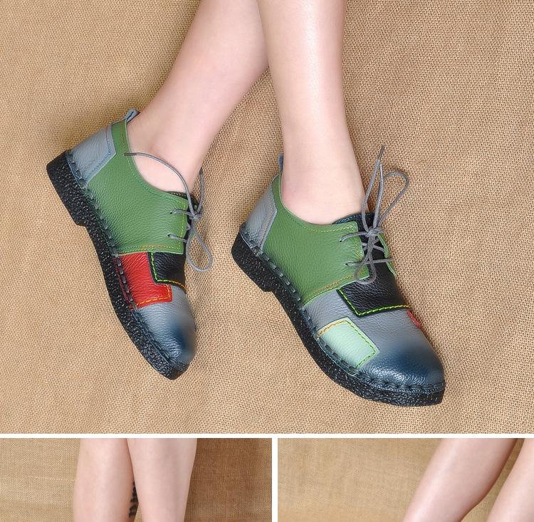 HTB1xx7sRpXXXXcHapXXq6xXFXXX5 - Women's Handmade Genuine Leather Flat Lace Shoes-Women's Handmade Genuine Leather Flat Lace Shoes