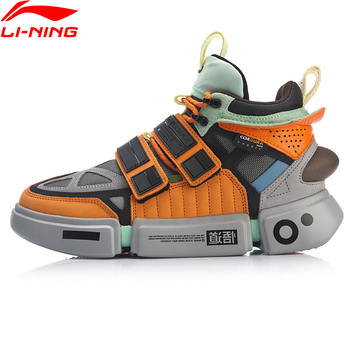 Li-Ning 2019 NYFW Men ESSENCE ACE+ Wade Culture Shoes Genuine Leather Wearable LiNing Sport Shoes Sneakers AGWP027 XYL243 spotter blacharski