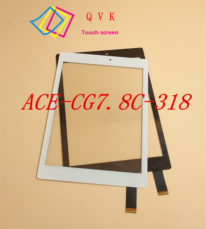 NEW ACE-CG7.8C-318-FPC 7.85 Inch Touch Screen Prestigio PMP7079D 3G Tablet PC Touch Panel Glass Digitizer PMP7077D3G
