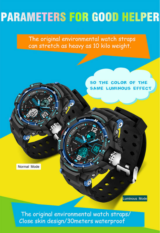 brand sanda led digital wristwatches for student (9)