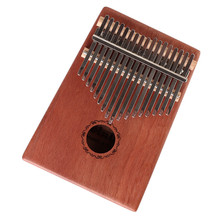 17 Key tone thumb piano Kalimba mahogany solid Wood finger piano With tune hammer package note sticker
