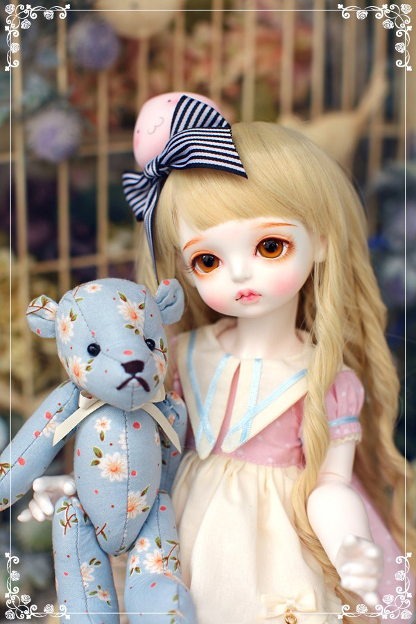 SuDoll Lovely 1/4 BJD doll Free Eyes BJD/SD New Style Doll For Baby Girl Boy Gift