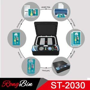 Image 4 - ST2030 Kleine Licht 3d Sublimation Vakuum Hitze Presse Maschine 3D Telefon Fall Drucker Wärme Transfer für Alle Handy Fall