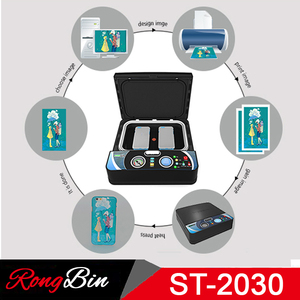 Image 4 - ST2030 Small Light 3d Sublimation Vacuum Heat Press Machine 3D Phone Case Printer Heat Transfer for All Mobile Phone Case