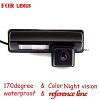 Wireless Wire Car Rear View Reverse Camera Parking Assist Wide Angle For LEXUS IS200 IS300 RX350