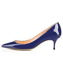 04e273631 Cocoafoal mulher vermelho noiva sapatos de salto alto tamanho grande 43 44  45 sapatos de salto baixo valentine verde azul rosa b.
