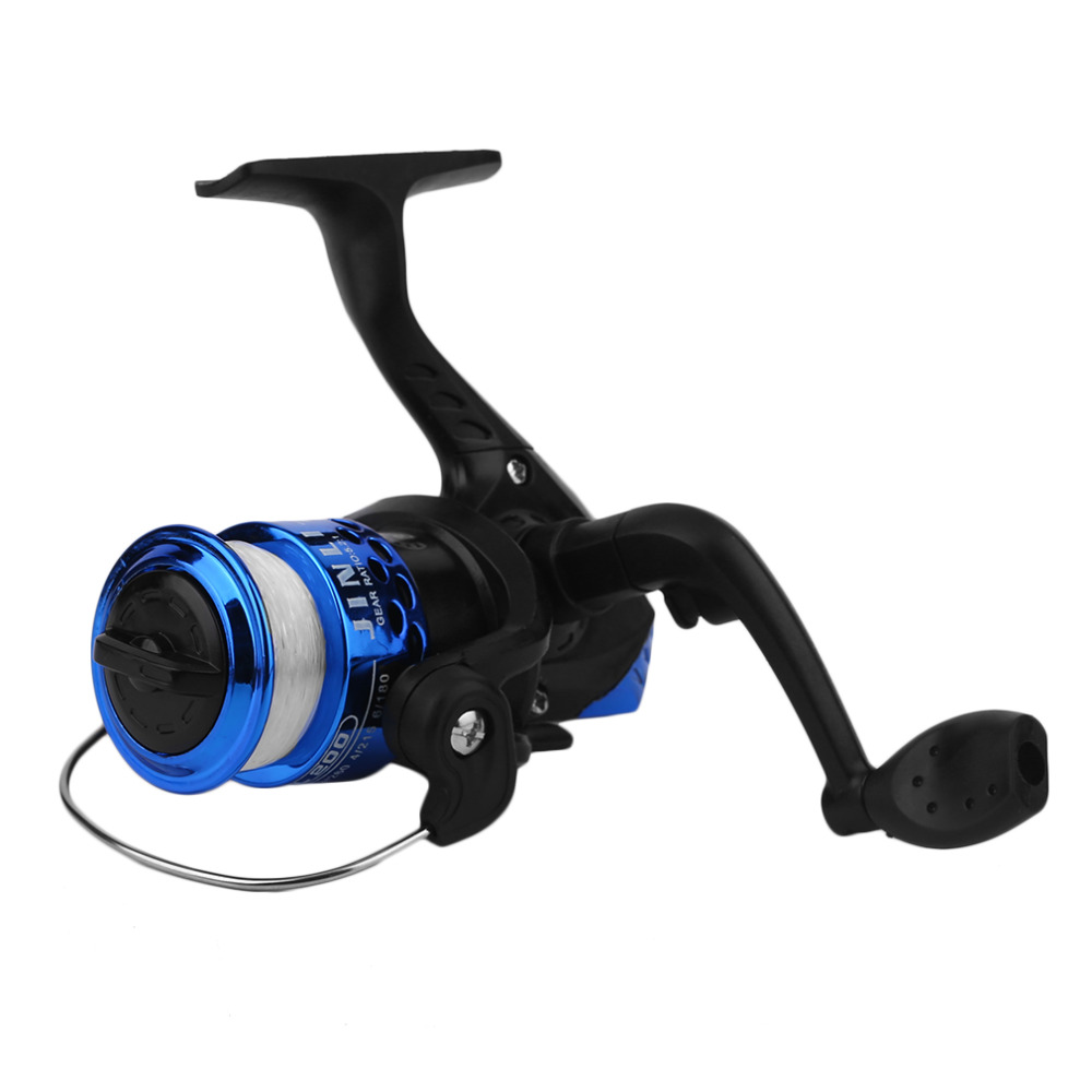 Plastic and Metal Yumoshi JL200 Electroplating Fishing Reel Gear Ratio 5 1 1 Spinning Reel With