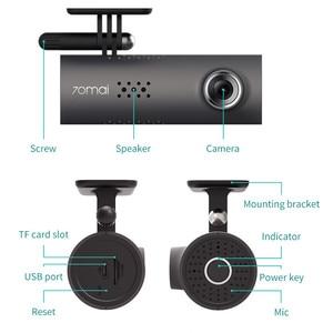 Image 5 - 70mai Smart Dash Cam 1S Tiếng Anh Điều Khiển Giọng Nói 70 Mai Camera 1080P 130FOV Wifi 70mai DVR Xe Ô Tô ghi Âm Xe Hơi Tự Động Đầu Ghi Wifi