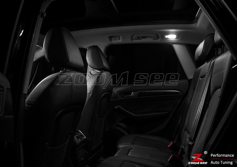 23 шт. х Премиум CANBUS ОШИБОК светодиодный свет интерьерный купол комплект Вышивка Крестом Пакет для Audi Q5(2009