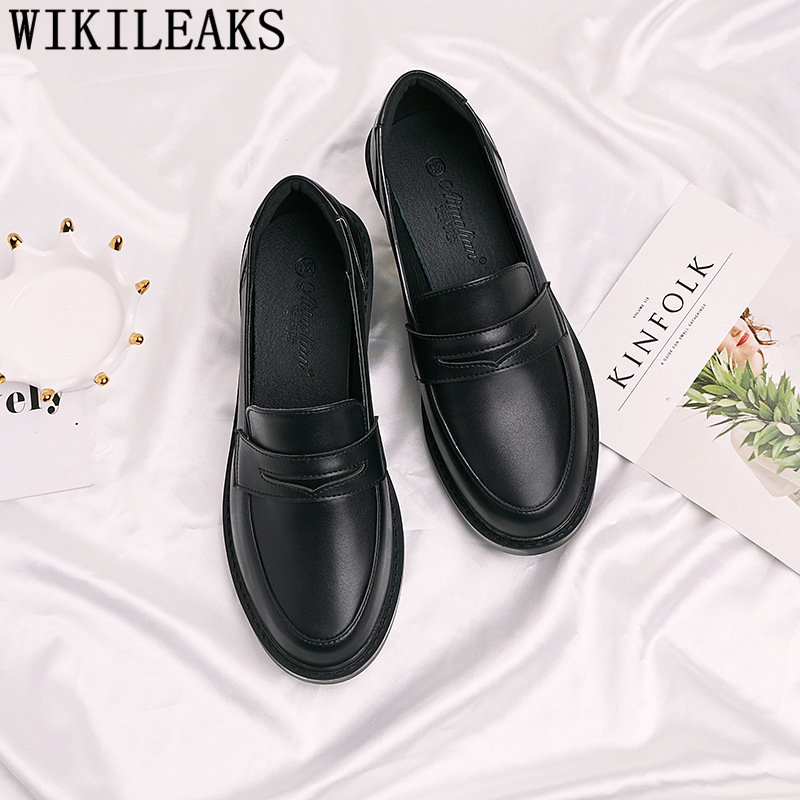 Fashion Comfortable Shoes Korean Shoes Loafers Women Slip On Shoes For Women Zapatos Oxford Mujer Schoenen Vrouw Dames Schoenen