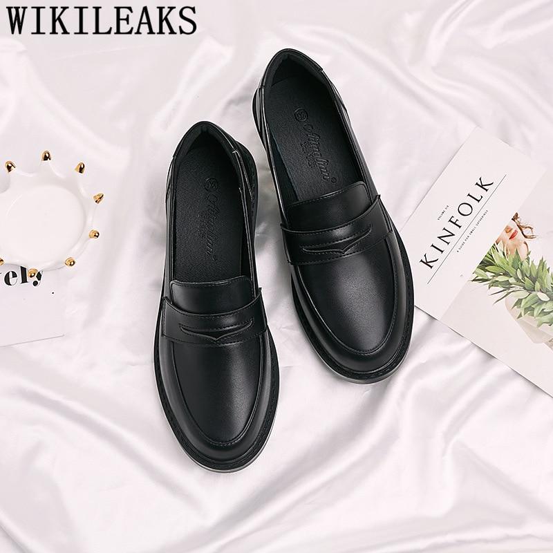Fashion Comfortable Shoes Korean Shoes Loafers Women Slip On Shoes For Women Zapatos Oxford Mujer Schoenen Vrouw Dames Schoenen