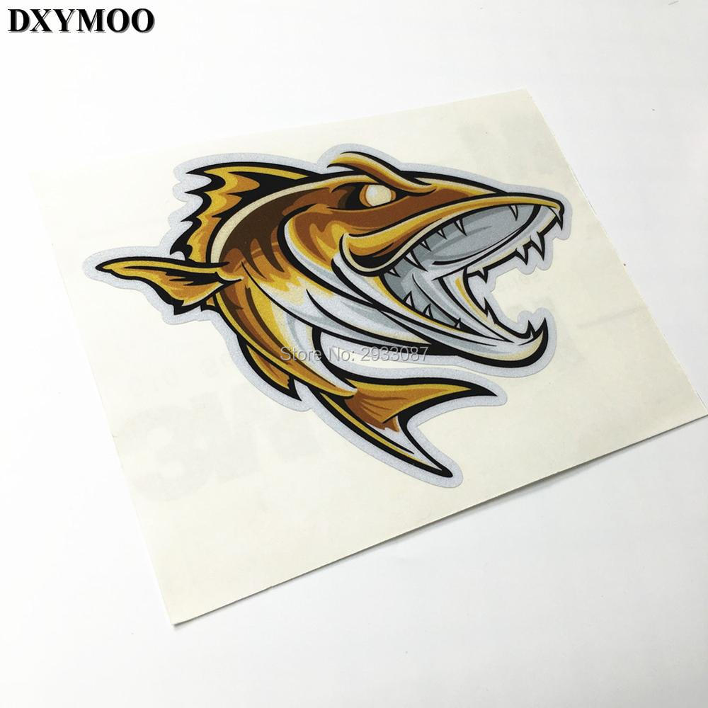3 Sizes Outdoor Sports Go Fishing Car Sticker And Decals