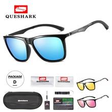 QUESHARK Polarized Cyling Sunglasses Sports MTB Road Bike Go