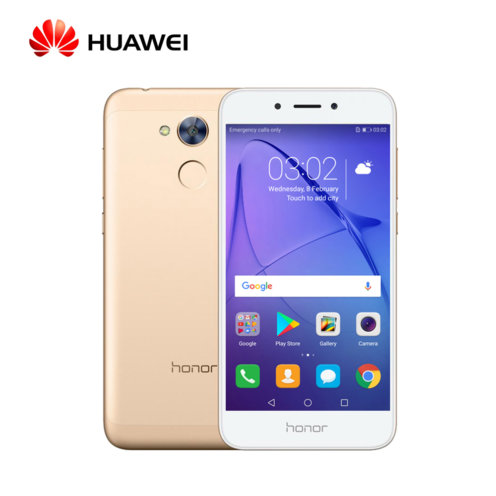 Original Global Firmware Huawei Honor 6A Smartphone OTA 4G LTE Snapdragon Octa Core 5.0'' 1280*720 FingerPrint