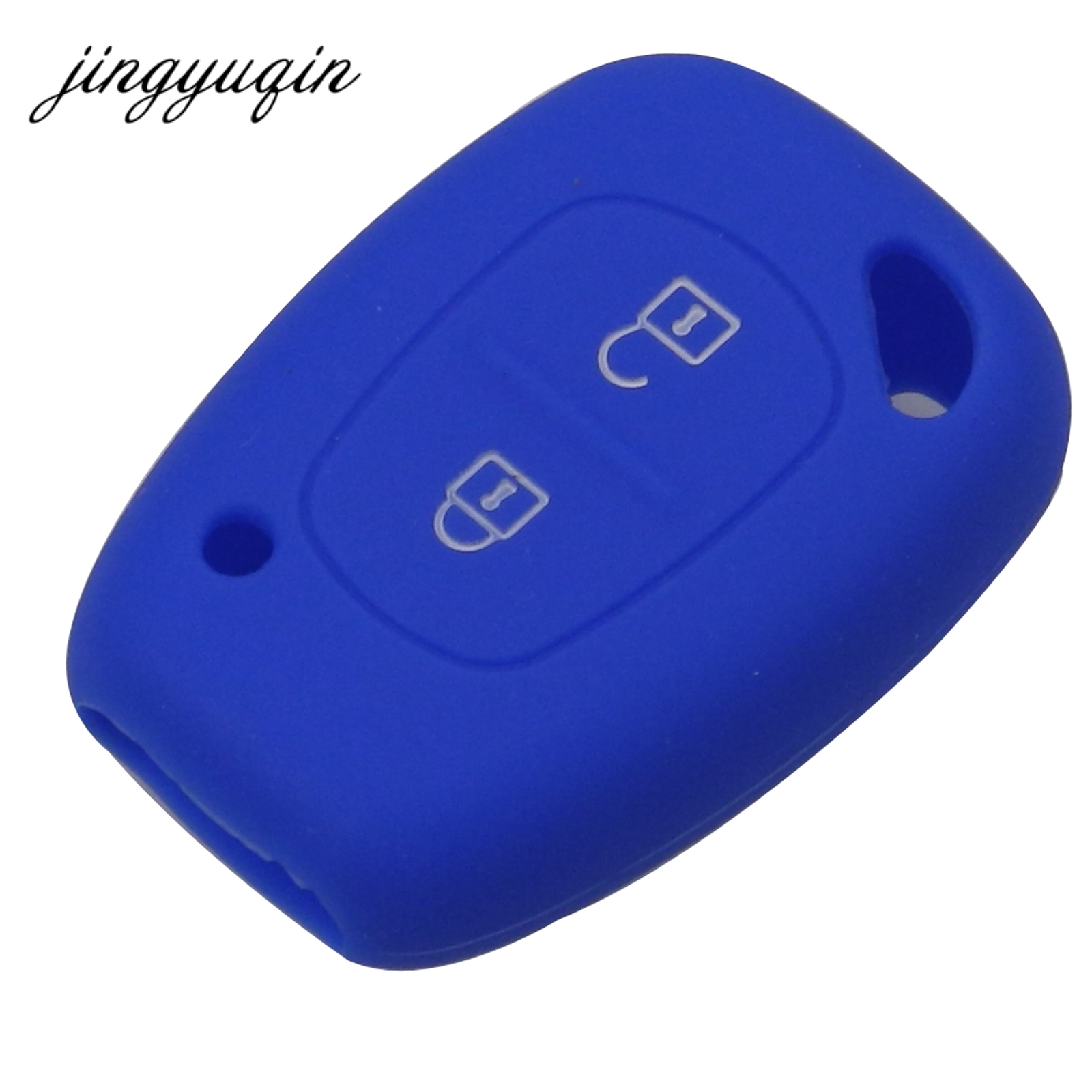 Image 3 - jingyuqin Silicone Car key Fob Cover Case for Renault Vivaro Movano Traffic Master Kangoo for Nissan Opel-in Key Case for Car from Automobiles & Motorcycles