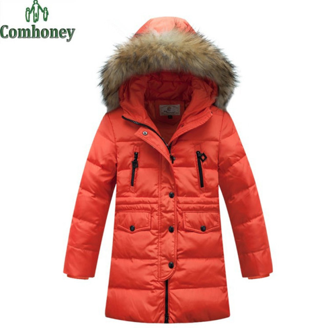 Winter Jackets For Teenage Thick Girls Winter Coat Long Section ...