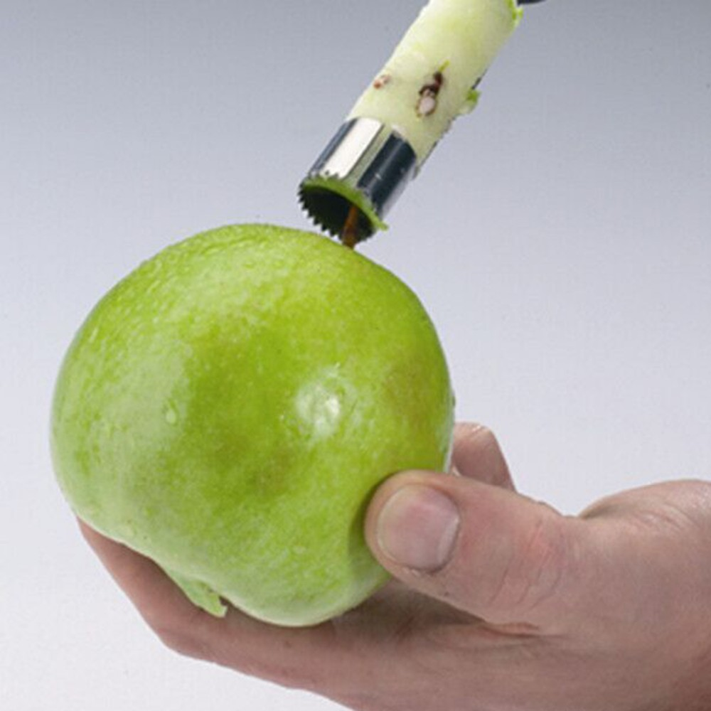 Stainless Steel Fruit Apples Pear Core Seed Fast Remover Kitchen Gadget Tool DEN