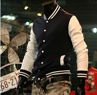 2013 Hot Men S Jacket Baseball Fashion Jackets Basketball Jackets 3 Color Black Red Navy Free