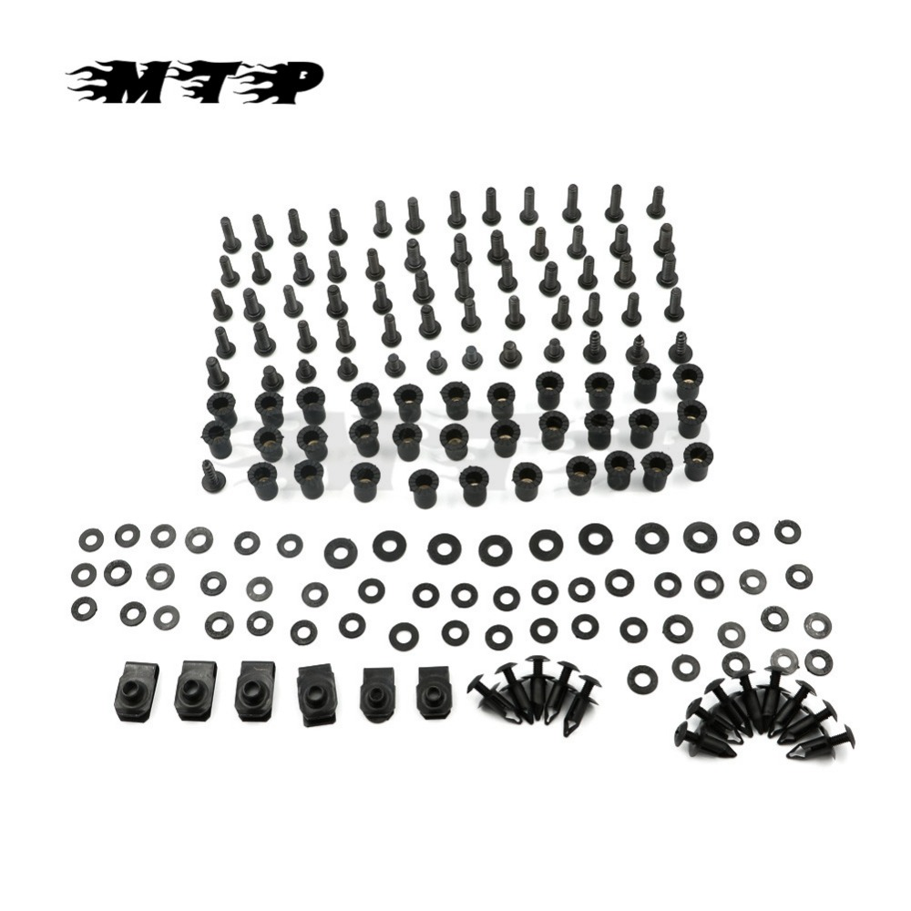 ZX6R 07 08 Motorcycle Complete Full Fairing Bolts For