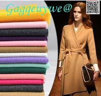 Gagqeuywe Imitation Wool Woolen Fabric Woolen Thick Autumn And Winter Coat Jacket Skirt Clothing Fabric Double