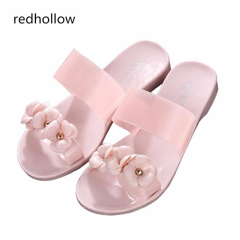 59ab1e794fb775 Flower slippers Women Sandals Fashion Summer Shoes Women Flat Sandals Flip  Flops Sandalias Mujer Ladies Sandals