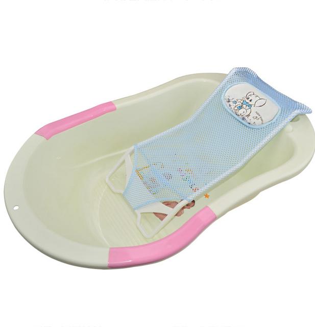 Lta Calidad Asiento de Baño Del Bebé Baño Ajustable bañera Recién Nacido Asiento de Seguridad Soporte 3 Colores Para Niñas niños Ducha