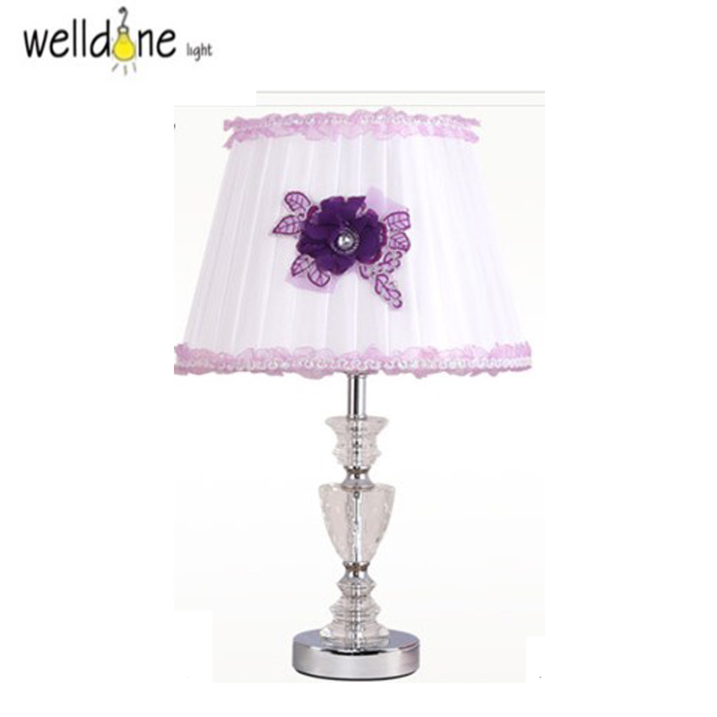 Modern Table Light AC 110V/220V Bedside Bedroom Wedding Table Lamp European-style Creative Personality DIY Lighting Desk Light