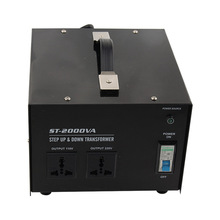 2000w home use 220v-110v,110-220v step up&down transformer for juicer,refrigerator,microwave,printer