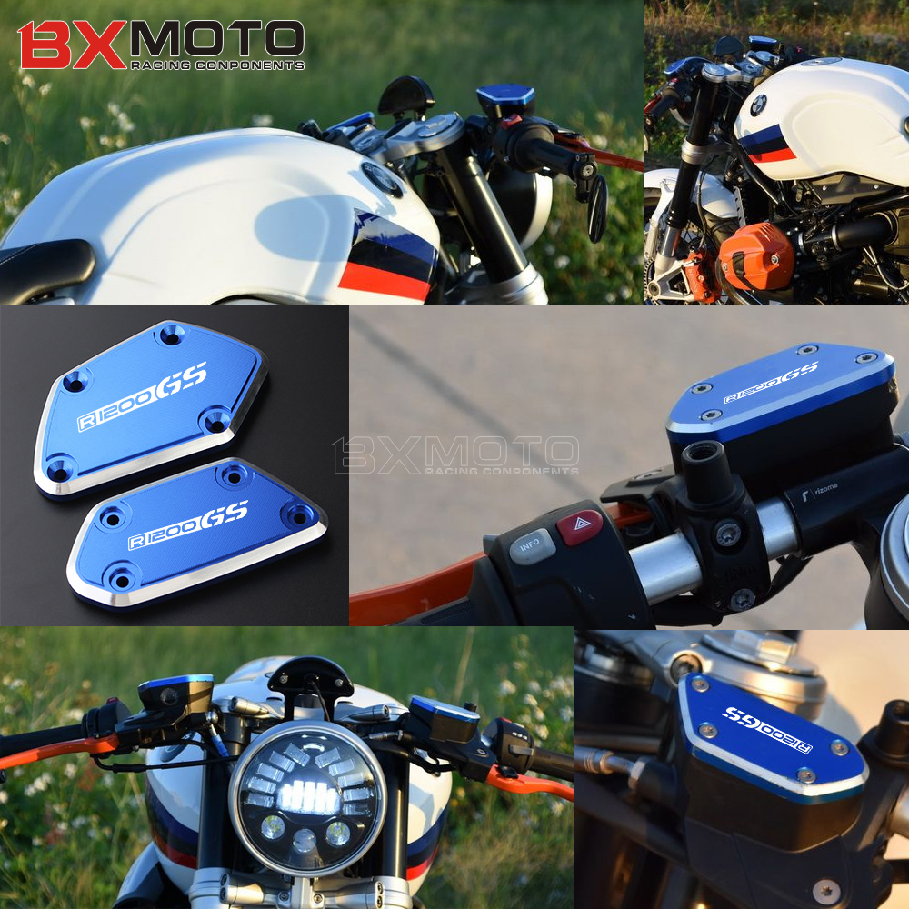 For BMW R1200GS LC Adventure R 1200GS 2012 2017 Motorcycle Accessories Front Brake Clutch Fluid Reservoir Cover Caps in Covers Ornamental Mouldings from Automobiles Motorcycles