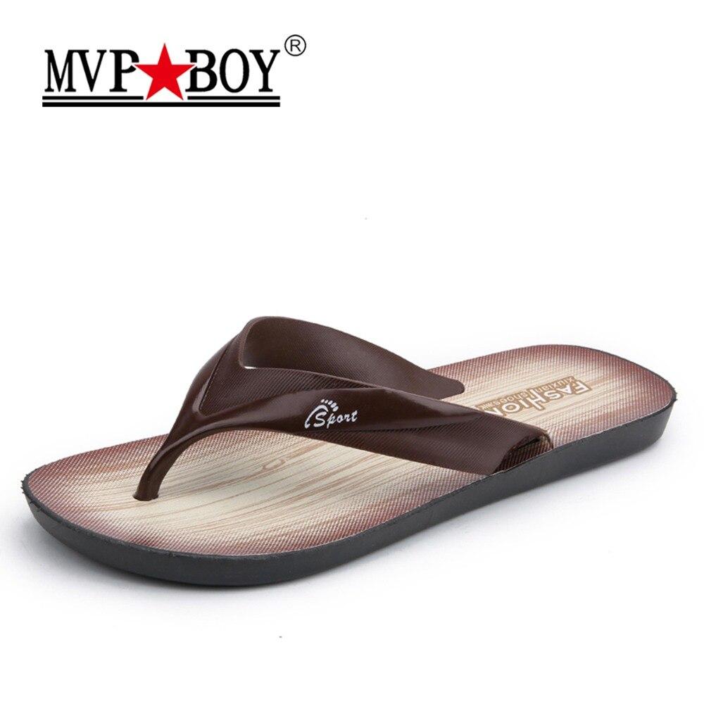 559ce71703633e MVP BOY Brand Flip Flops Men Summer Outdoor Beach Flip Flops Cheap Indoor  Black Men Flip Flops Fashion Lightweight Flip-flops