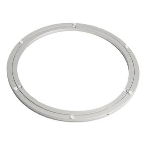 Image 2 - アルミ回転ターンテーブルベアリングスイベルプレート16インチシルバー