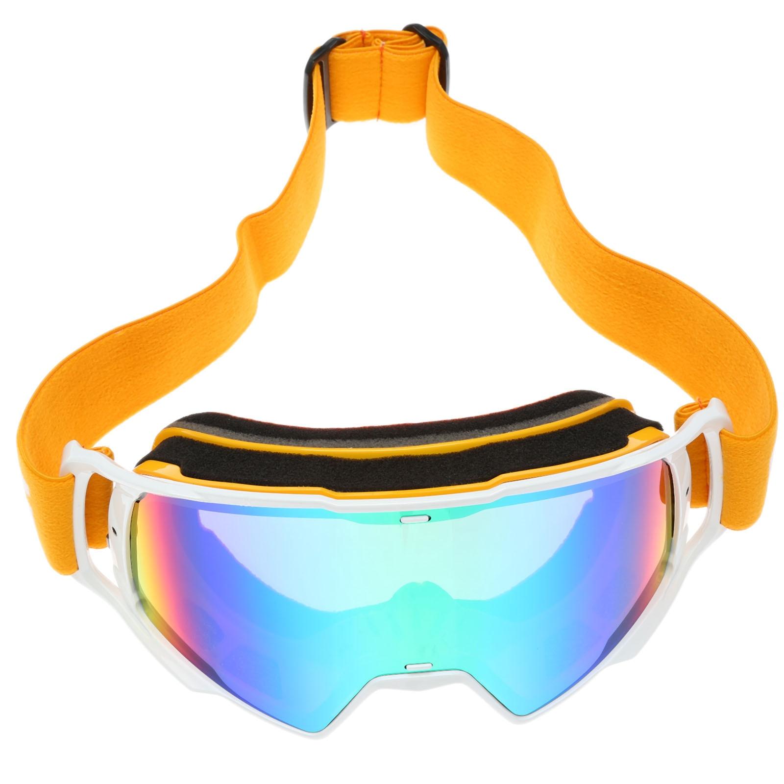 5 цветов avaiable унисекс Профессиональных Сферические Двойной объектив зеркало анти-туман УФ сноуборд горнолыжные очки Очки для лыжного спорт...