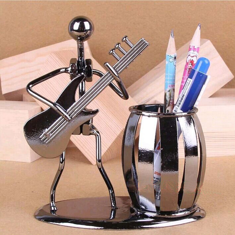 Popular Creative metal Pen holder Vase Pencil Pot Stationery Desk Tidy Container office stationery supplier business craft Gift tianse golden brass pen holder stainless steel metal desk accessories pencil stand pen pot stationery container office supplies