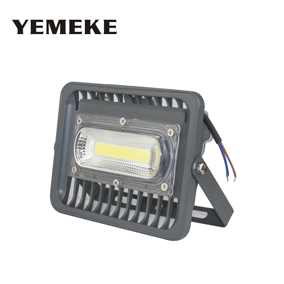 AC85-265V LED Flood Light 50W 100W 150W Led Floodlight Spotlight Reflector LED Waterproof Outdoor Garden Projectors garage light 1pcs 100w led floodlight 2pcs 50w chip waterproof outdoor led flood light ac85 265v outdoor led spotlight outside led reflector