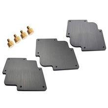 все цены на 3Pcs Round Corner Jig Bakelite Plate R Round Corner Radius Jig Router Templates Bakelite Plate Engraving Machine онлайн