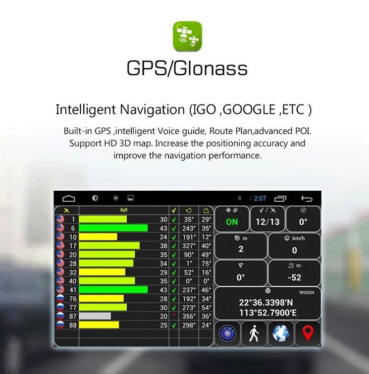 "Flash Deal 7"" HD  Quad Core Android 6.0 2 Two Din Universal Car DVD Radio GPS Stereo Navigation Playe for old Nissan Hyundai Kia 9"