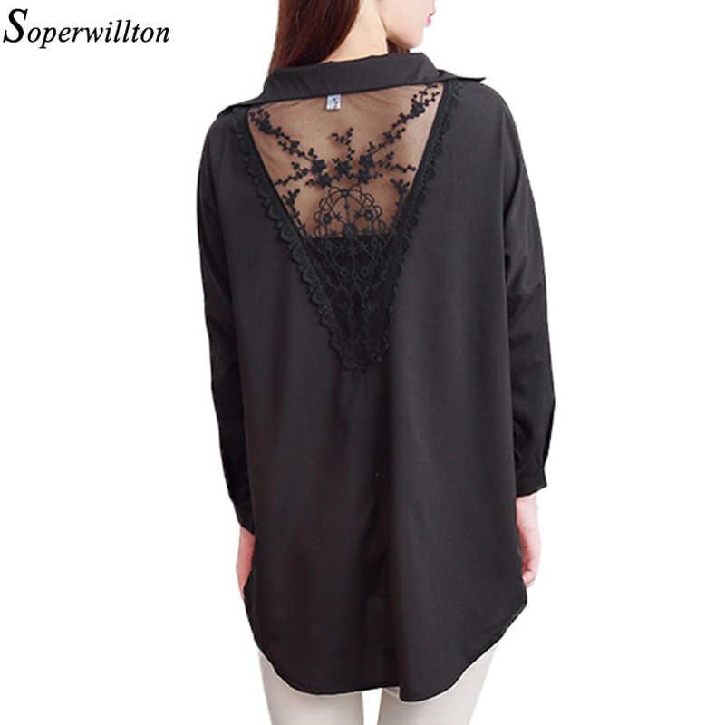 7a40975ef9b8a Plus Size Women Clothing Women Shirt Lace Blouse Large Size Blusa Feminina Floral  Blouses White Ladies