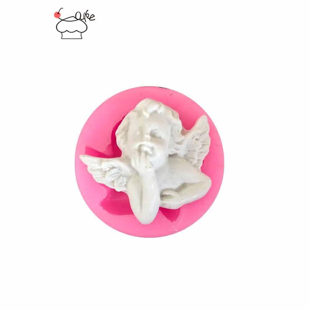 Aouke Little angel Fondant Cupcake отделка формы торт силиконовые формы Sugarpaste конфеты шоколадные для мастики и глины плесень