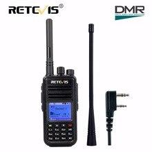 DMR Dijital Radyo (GPS) Walkie Talkie Retevis RT3 UHF (veya VHF) 5 W Şifreleme 2 Yönlü Telsiz Amador Hf Telsiz Amatör Telsiz Istasyonu