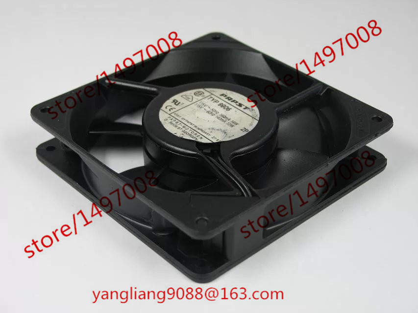 ebmpapst TYP 9906 TYP9906 AC 115V 12W/14W  120x120x25mm Server Square  Fan ebmpapst a6e450 ap02 01 ac 230v 0 79a 0 96a 160w 220w 450x450mm server round fan outer rotor fan