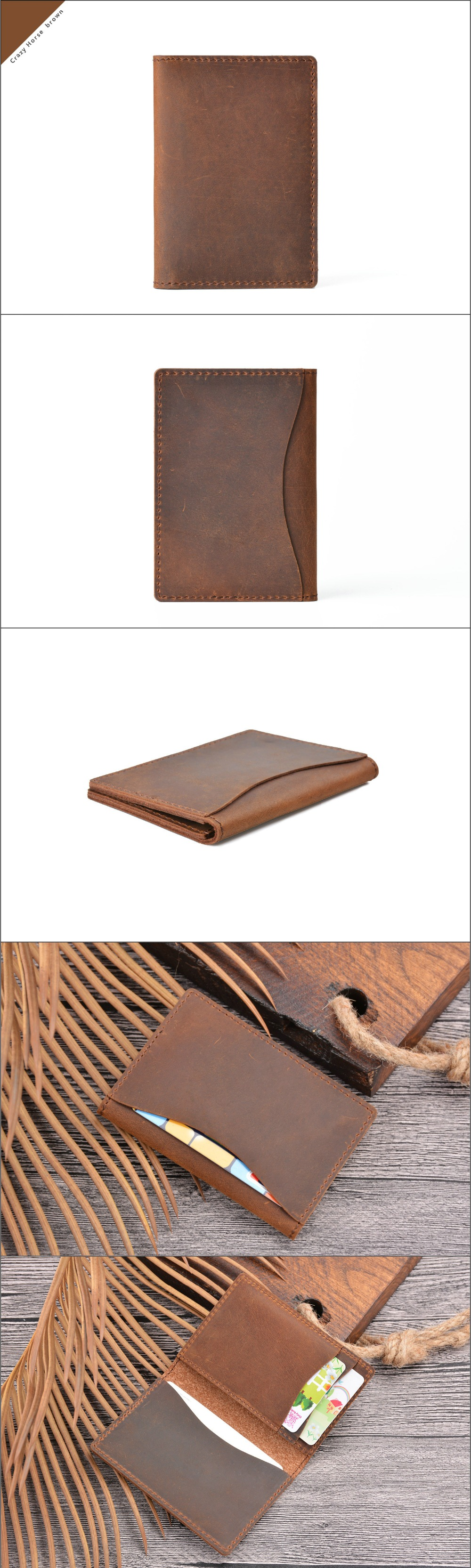 crazy horse leather card holder (13)