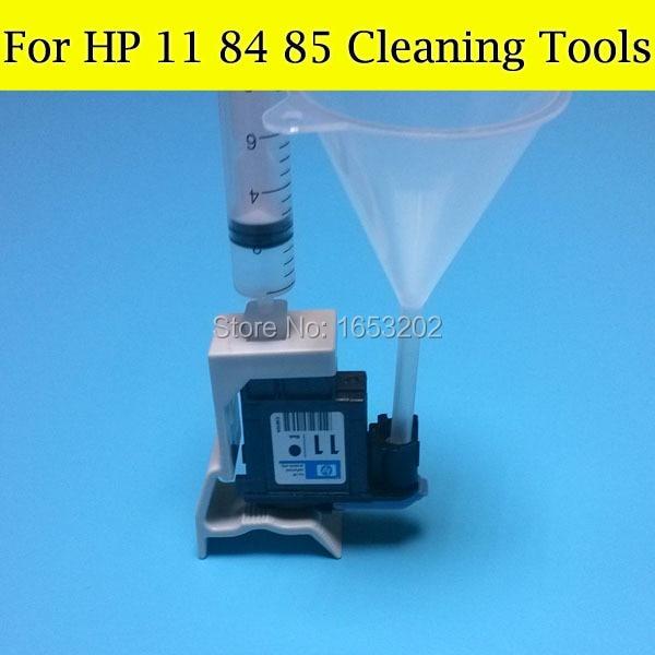 1 Set Printhead Cleaner Units For HP11 HP84 85 Print Head Cleaning Tools For HP Designjet 500 800 510 130 815 Printer head