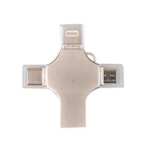 4 w 1 wielofunkcyjny OTG dysk USB typu c błyskawica-Android USB3.0 szyfrowania pamięci Flash dla Xiaomi