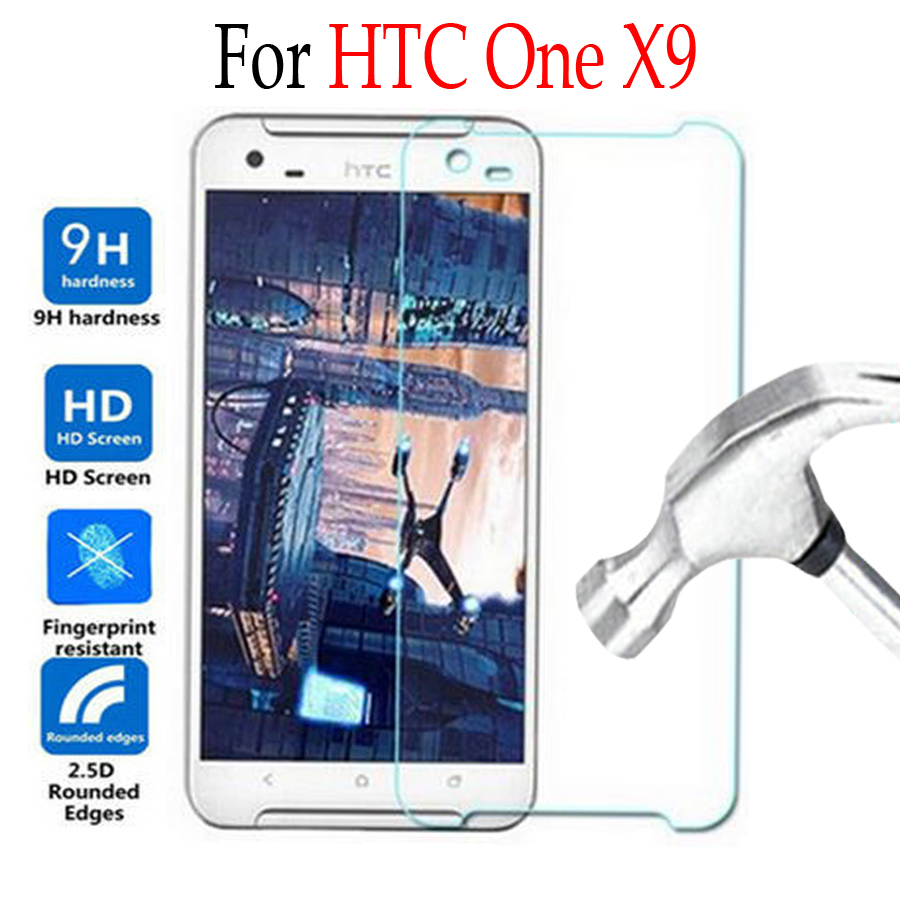 9H For HTC One X9 Tempered Glass For HTC One X9 X 9 X9u E56ML Dual Sim Phone Screen Protector Cover Protective Film Case