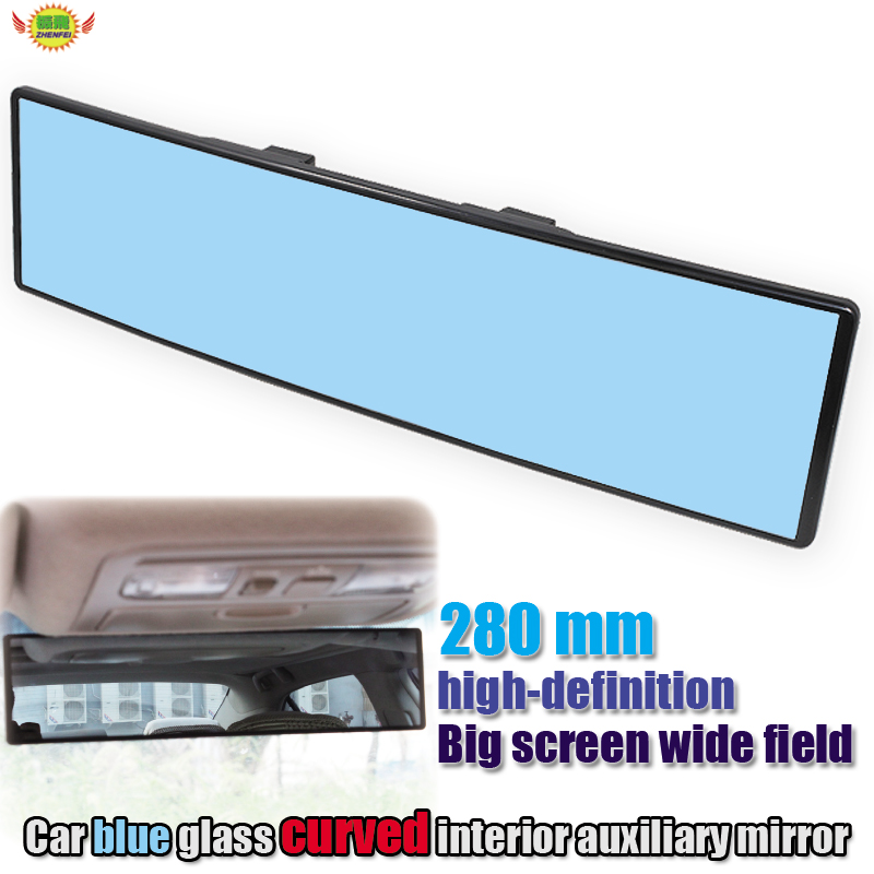 Car accessories Vehicle-mounted large-field view Curved Anti