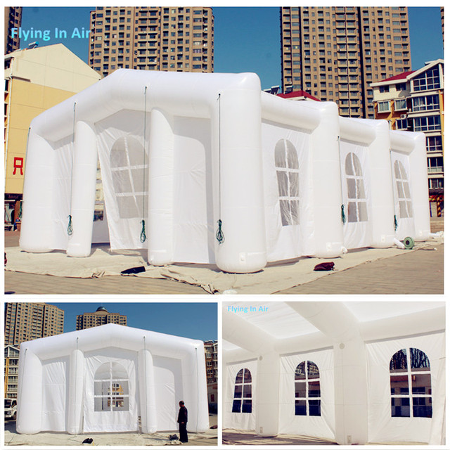 Outdoor Customized Advertising Structure White Inflatable Frame Tent ...