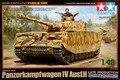 Tamiya 32584 1/48 escala tanque modelo de segunda guerra mundial alemão Panzerkampfwagen IV Ausf panzer.